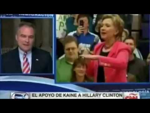 Tim Kaine on CNN Español