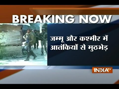 J&K: Encounter between militant and security forces in Kupwara district,  search operation continues