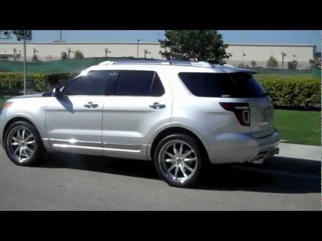 2011 Ford Explorer w/ CGS Cat Back Exhaust System