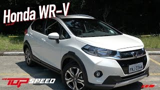 Avaliação Honda WR-V (WRV) EXL 2018   Canal Top Speed