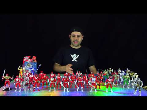 Power Rangers Super Megaforce Every Red Action Hero 5 inch Figure!
