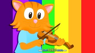 Hey Diddle Diddle | Kids Songs with Action And Lyrics | Nursery Rhymes from KidsSongsClub