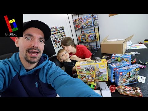 LEGO MAIL TIME WITH SPECIAL GUESTS!