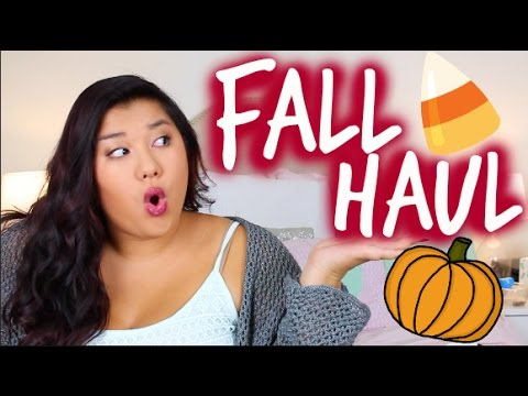 HUGE FALL HAUL | Brandy Melville, Topshop, Forever 21 & More!