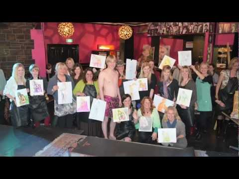 Hens Party Ideas Adelaide | 0432924305 | Draw The Man, Life Drawing | Nude Male Art Model