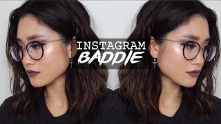 "INSTAGRAM BADDIE ""NERD"" INSPIRED MAKEUP TUTORIAL 