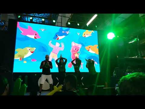 Brasil Game Show 2019 Baby Shark, Just Dance 2020 , Stand XBox