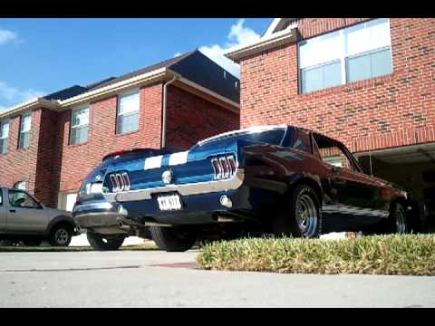 67 Mustang Inline 6 - Cherry Bomb Extreme Dual Exhaust