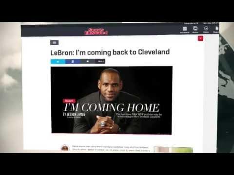 LeBron James zurück zu den Cleveland Cavaliers | Miami Heat | NBA | The Kingdom restored