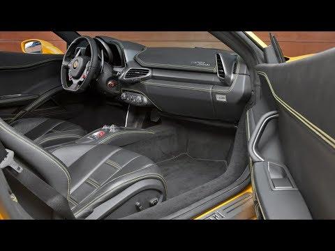Обзор Ferrari 458 Italia, интерьер