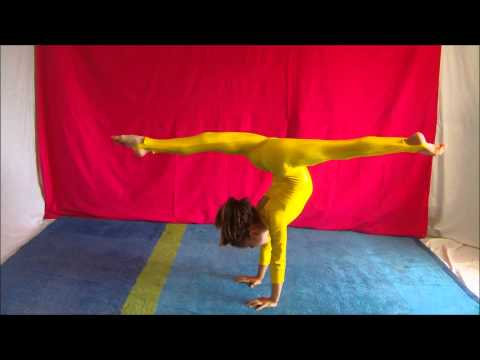 Erifilly - Handstands - Can be Interesting !! Watch and Learn !!! :)XXX