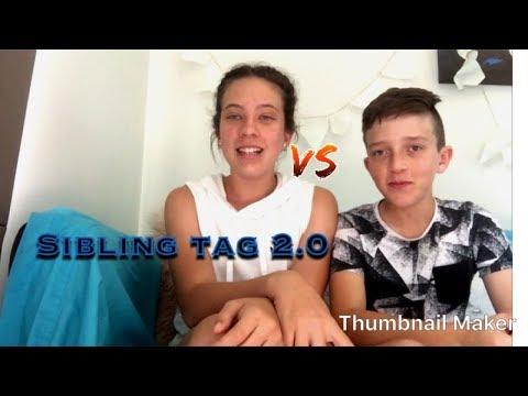 Sibling tag 2.0 - Angelles's Videos