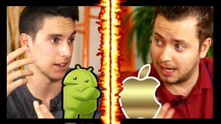 Android VS iOS - Cual es MEJOR?