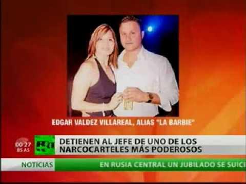 Detienen en México a 'La Barbie', uno de los narcos más buscados Video