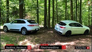 The 2019 Alfa Romeo Stelvio QV & Porsche Macan Are Sports Cars Disguised as SUV's