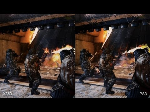 Metro: Last Light - Xbox 360 vs. PS3 Comparison