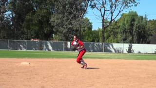 Kheanna Mosley Softball Skills Video