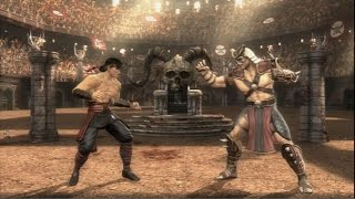 Mortal Kombat 2011  Liu Kang vs Shao Kahn  PS3 Gam