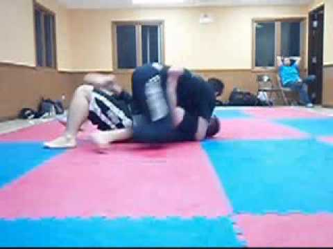 Jiujitsu Transitioning into the north south Armbar Image 1