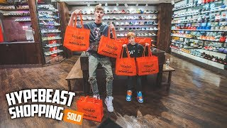 The Youngest Hypebeast in America Goes Hypebeast Shopping!
