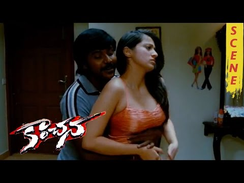 Lakshmi Rai & Raghava Lawrence Romantic Scene - Kanchana Movie Scenes thumbnail