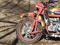 Ural Sidecar Motorcycle Offroad Gear Up 2WD on Dirt Trail