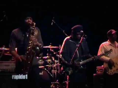 Bernard Allison serious cover Luther Allison 2010
