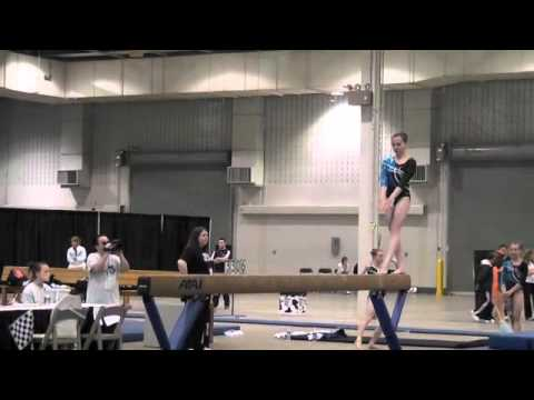 Sydney McGlone-Level 10 UGI Gymnast, 2012 Region 5 Regionals Junior B-Beam Routine