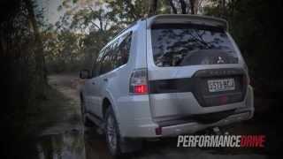 2015 Mitsubishi Pajero Exceed 0-100km/h & off road
