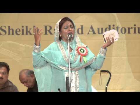 10. Shabeena Adeeb - Hamari Association Mushaira - Dubai 2012...