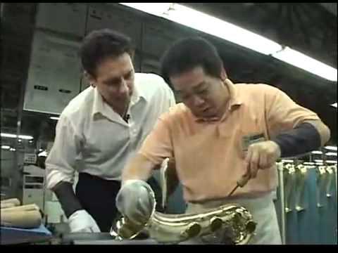 Fabricación de los saxofones Yamaha