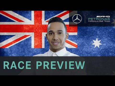 Lewis Hamilton 2015 Australian Grand Prix Race Preview, with Allianz