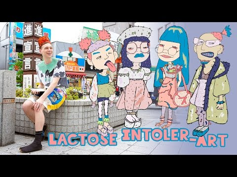 Lactose Intoler-Art - Street Style-Inspired Art & Fashion in Tokyo