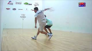 2018 Racquetball World Championships - Men's Singles - Iwaasa CAN vs Kwon KOR