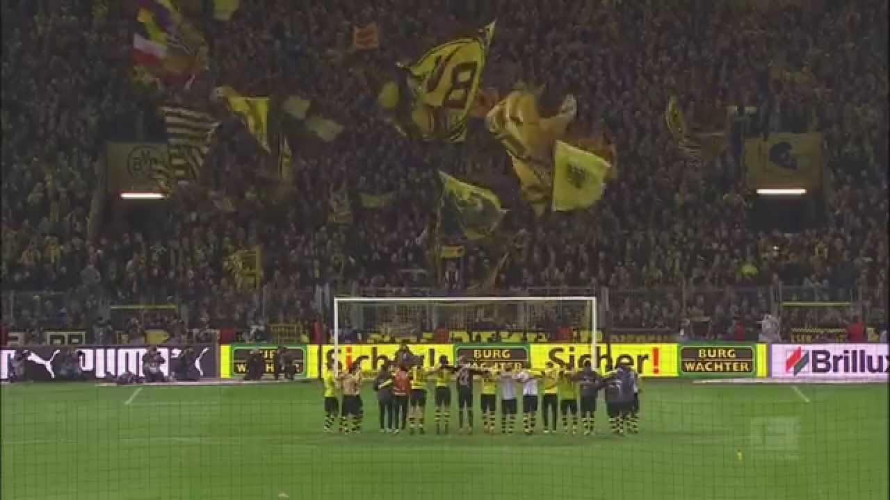 Dortmund Fans Yellow Wall Yellow Wall Dortmund | Bvb