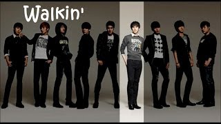 Watch Super Junior Walkin video