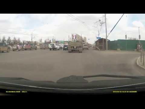 Неадекватный водитель камаза. Красноярск