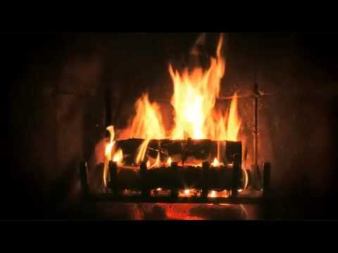Ambient Fireplace with Jazz & Classical Christmas Music Favorites...