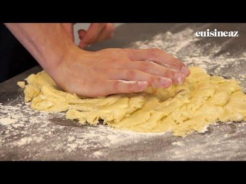 Fraiser une pâte