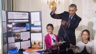 President Obama's Last White House Science Fair