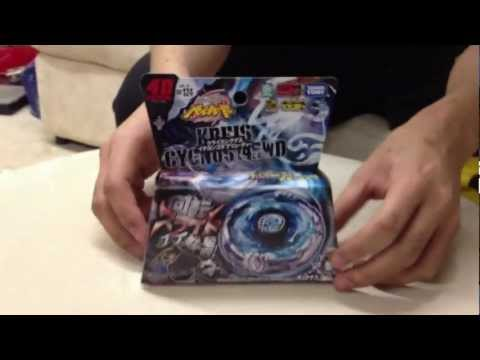 KREIS CYGNUS 145WD BB-124 Unboxing and Review - Beyblade クライスシグナス