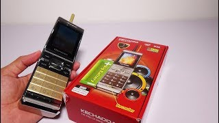 Kechaoda K36 - The king of music phone gold color