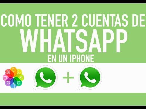 Como tener 2 cuentas de whatsapp con diferentes numeros en iPhone (FACEBOOK) (INSTAGRAM)