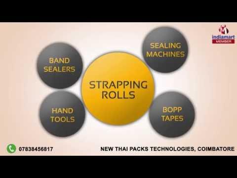 Packaging Machines & Tools by New Thai Packs Technologies, Coimbatore