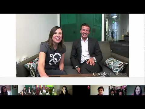 Google+David Beckham Hangout