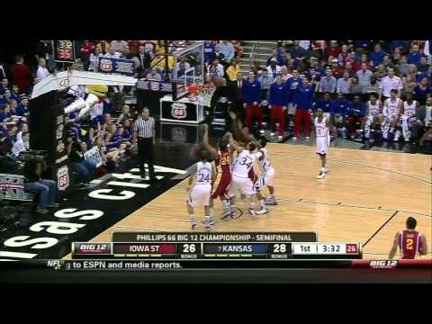 2012-13 Big 12 Semifinals #7 Kansas vs Iowa State