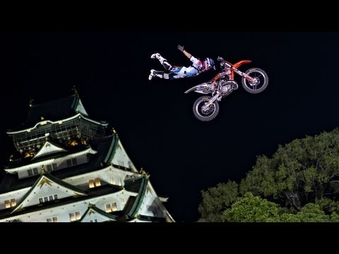 Freestyle MotoX debuts in Japan - Red Bull X-Fighters 2013 Osaka
