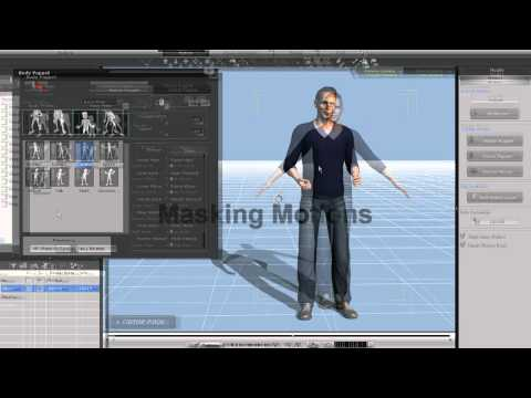 iClone5 Tutorial – Intro to Body Puppet Motion
