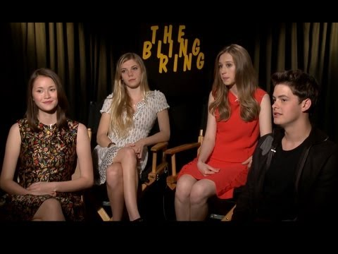 Bling Ring Cast Interview! Funny LA Accents and Party Spots!