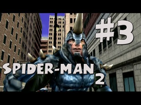 Spider-man 2 Walkthrough Part 3 - Rhino video